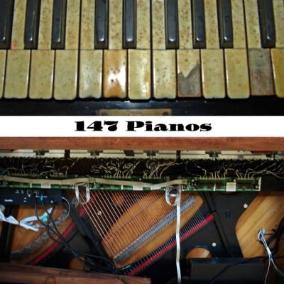 147 Pianos by Dolores Wilber